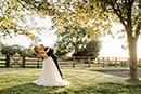 Golden Hour Sunset Wedding at Primrose Hill Farm