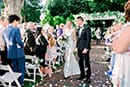 Beautiful New England wedding ceremony